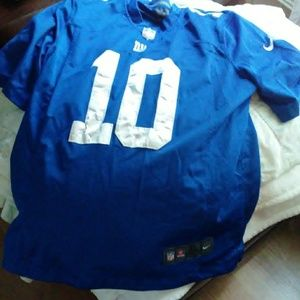 NFL Official On Field Eli Manning NIKE Jersey (XL)